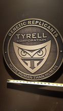 LARGE Blade Runner Tyrell Corporation Logo plaque