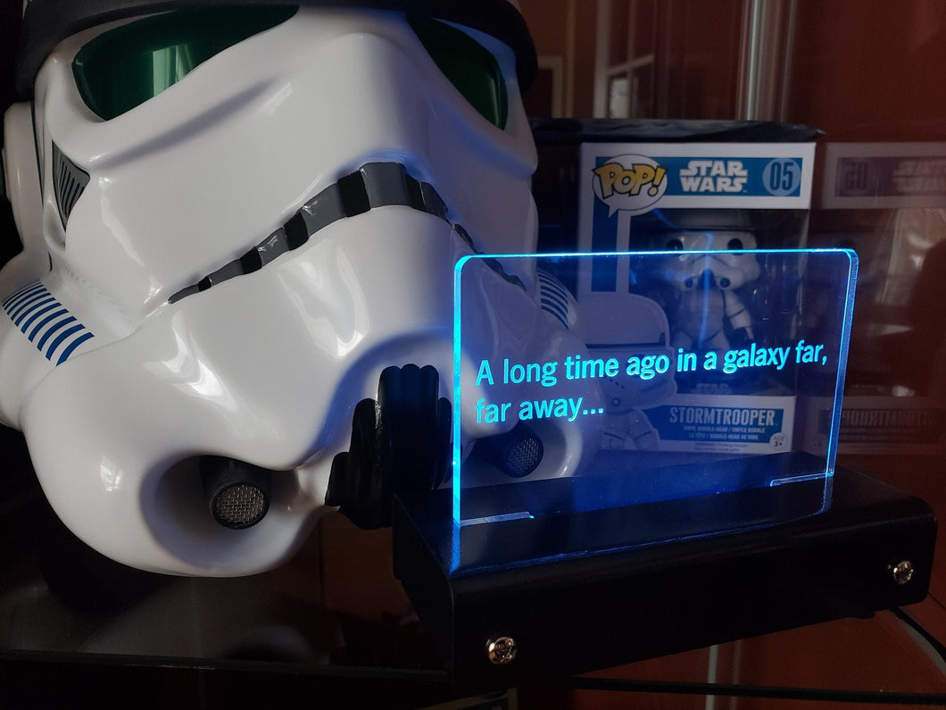 a long time ago LED prop Display