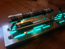 Star Wars 4 Lightsaber Display stand with LED lights