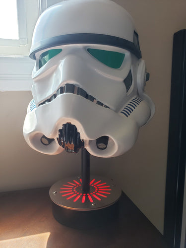 Star Wars Helemt Display stand with LED lights