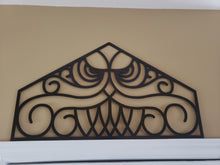 Disney haunted mansion door trim transom replica