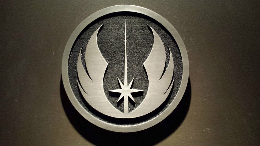 star wars Jedi order plaque sign