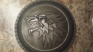 Game of Thrones house stark shield