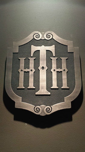 Disney World Tower Of Terror Plaque HTH Hollywood Tower Hotel