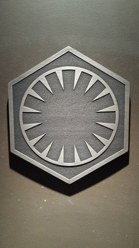 star wars First order plaque sign