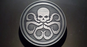 Marvels Agents of SHIELD comic inspired plaque HYDRA logo