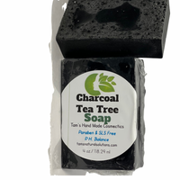Charcoal Tea Tree (Acne Bar) - Tam's Natural Solutions