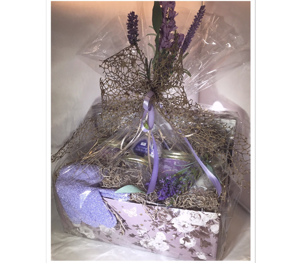 Organic Lavender Gift Set Pure Lavender Luxury All Natural -Vegan - Tam's Natural Solutions