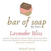 Lavender Bliss - Tam's Natural Solutions