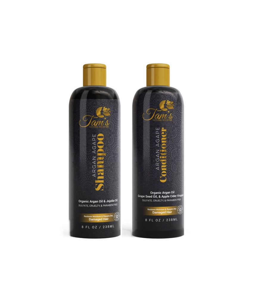 Argan Agape Shampoo & Conditioner Set 8oz