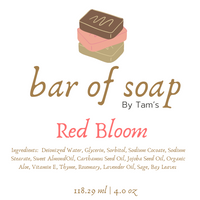 Red Bloom - Tam's Natural Solutions