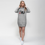 AIRI 911 BLACK SOUL Premium Adult Hoodie Dress