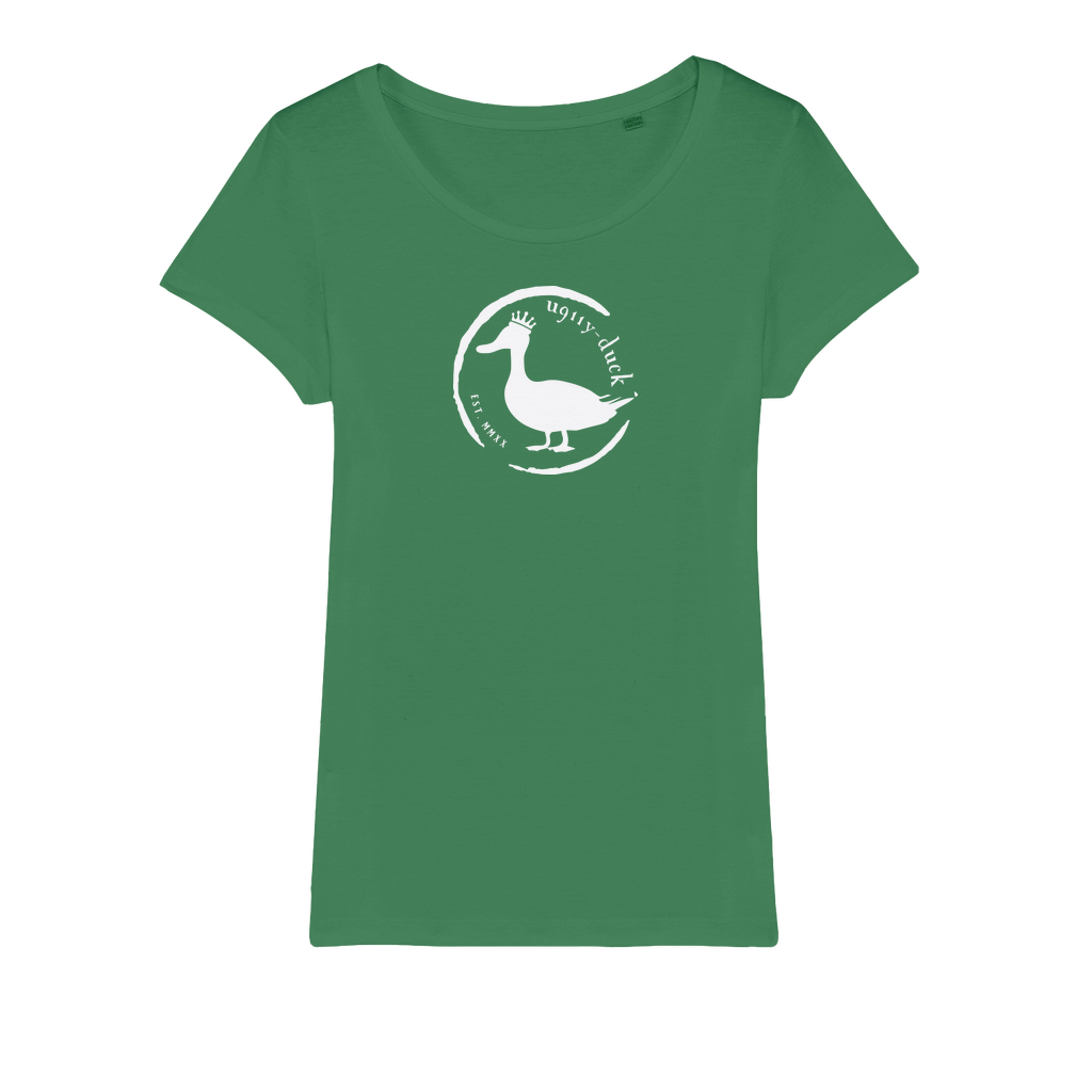 U911Y DUCK WHITE Organic Jersey Womens T-Shirt