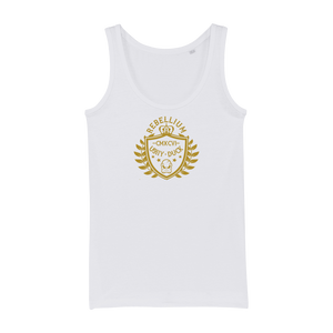 REBELLIUM Organic Jersey Womens Tank Top