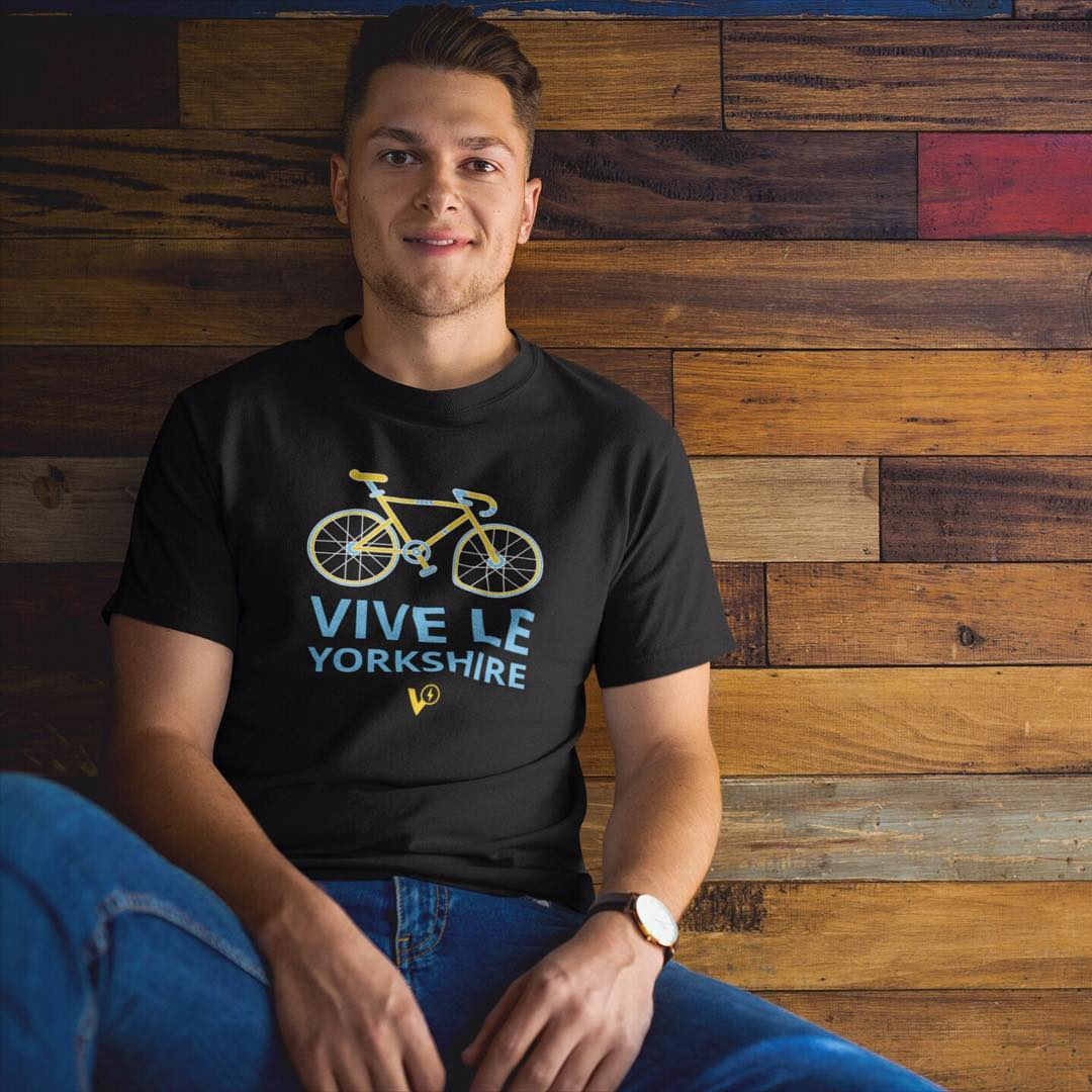 Cycling T-Shirt Vive Le Yorkshire