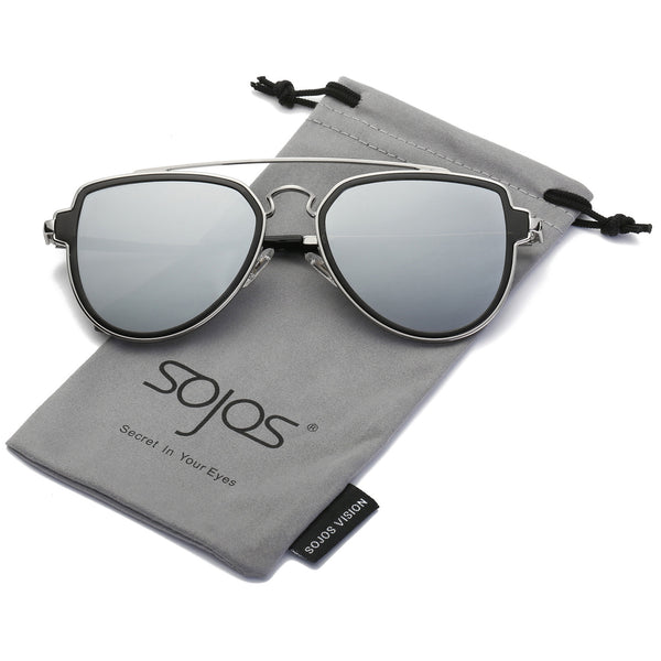 99d80bad996c ... HAVANA S™ - Unisex Classic Aviator Sunglasses with Polarized Mirrored  Lenses