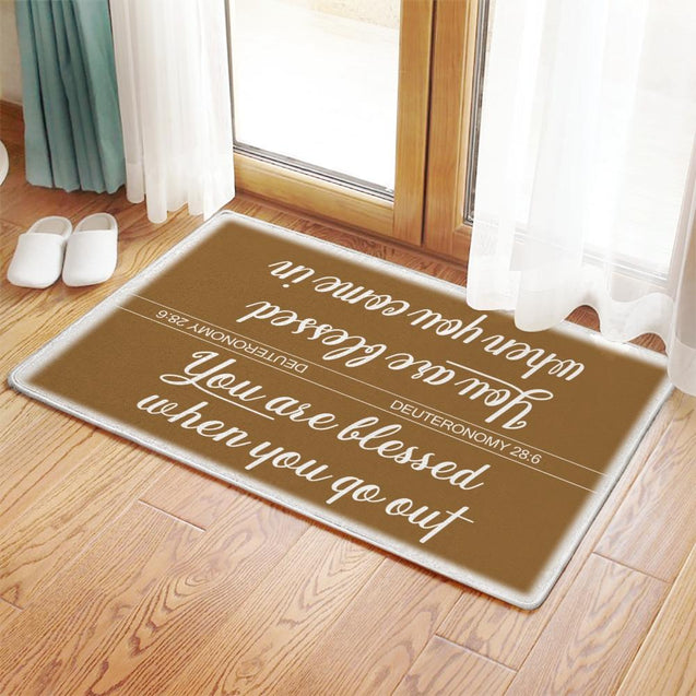 YOU ARE BLESSED Doormat - Creatures Unique