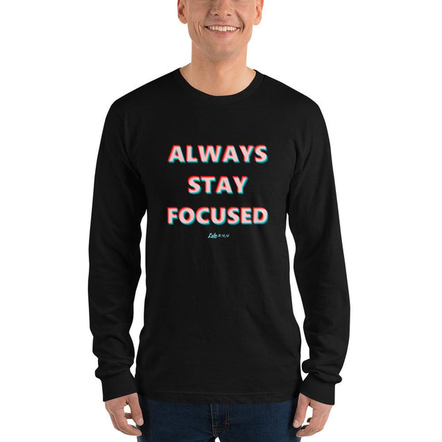 Stay Focused Long sleeve t-shirt - Creatures Unique