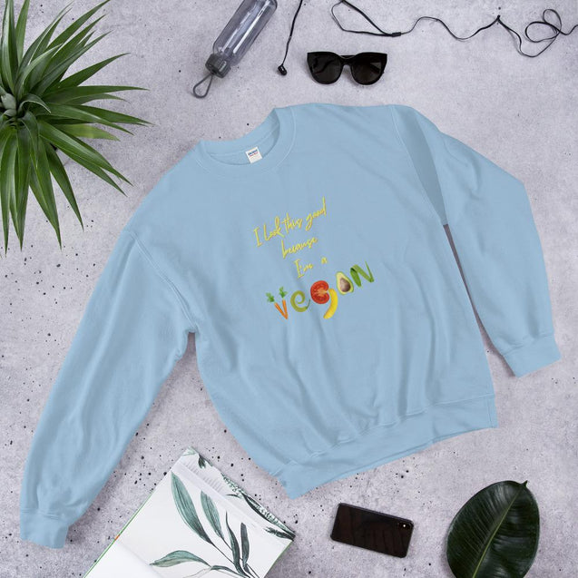 I'm a Vegan Sweatshirt - Creatures Unique