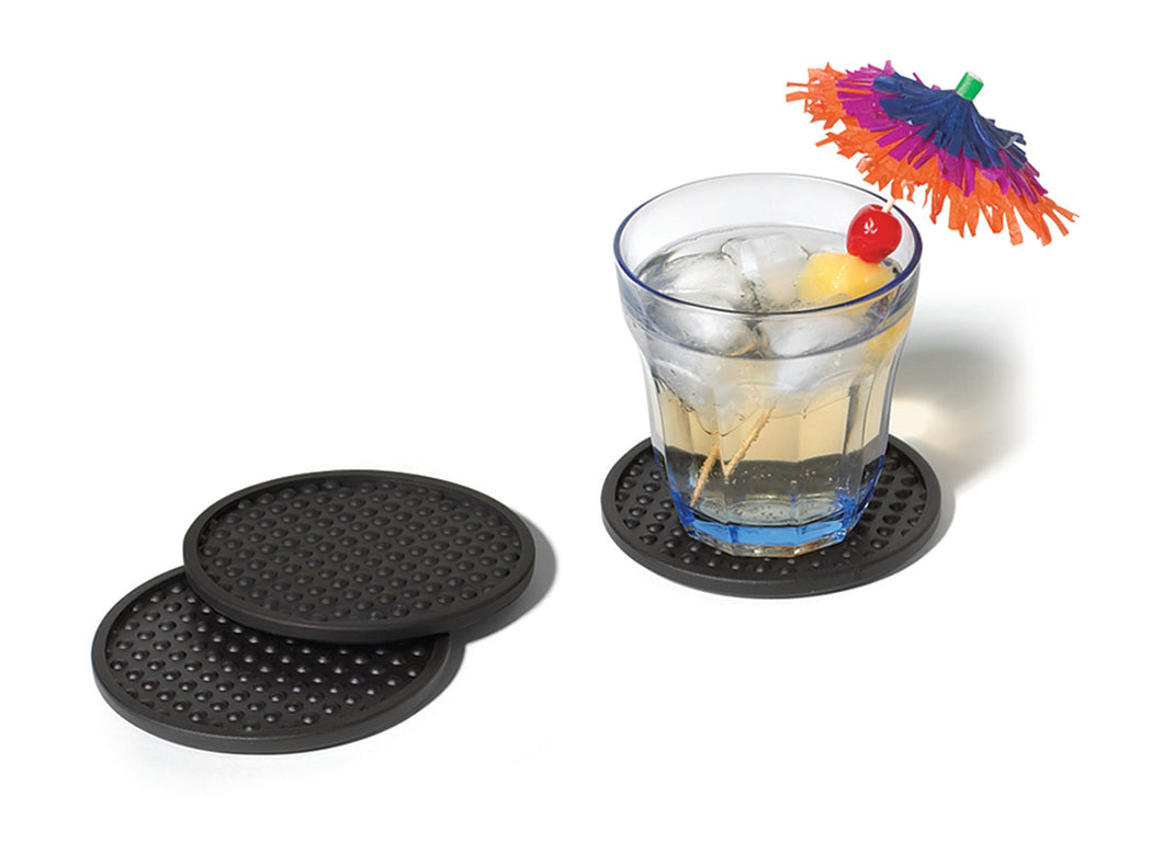 Bubble Coasters Set of 4 - Black