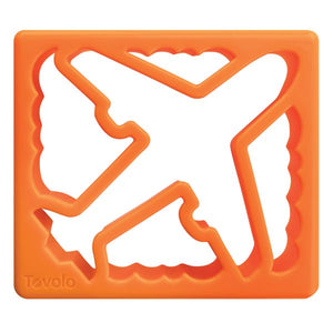 Sandwich Shaper - Plane & Clouds - Orange Peel