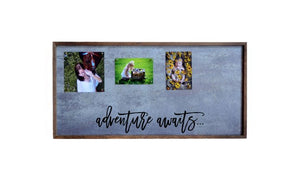 12x24 Magnetic Photo Frame Adventure Awaits