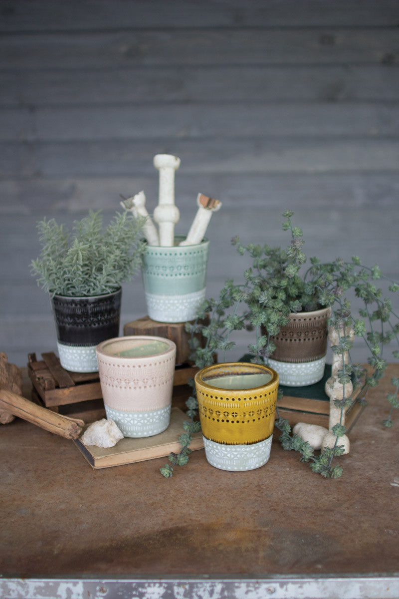 Assortment Ceramic Pots