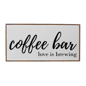 32x16 Coffee Bar Sign
