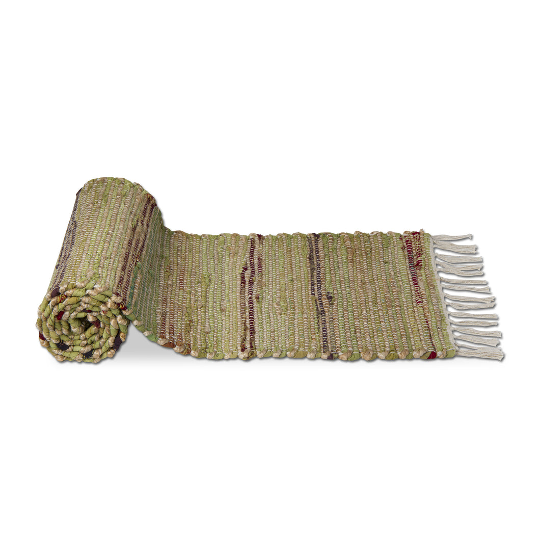 cotton chindi jute runner