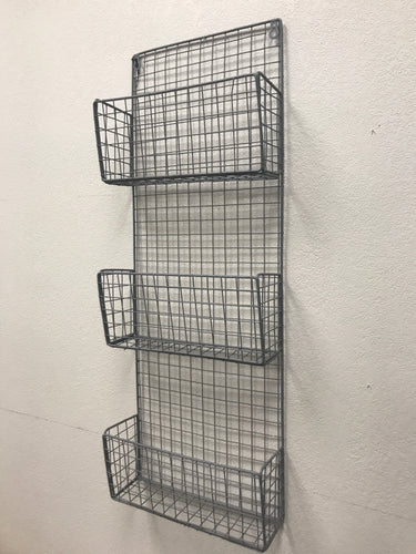 Rect Wire Wall Rack