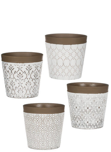 Cement Flower Pot Assorted