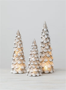 LED Grey Christmas Tree Med