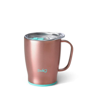 Swig 18oz Rose Gold Mug