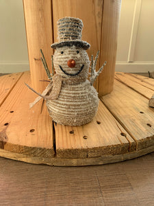 Foam Snowman w/ Hat & Scarf Short