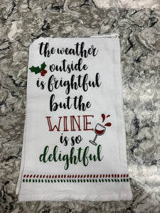 The Weather Outside FS Dishtowel