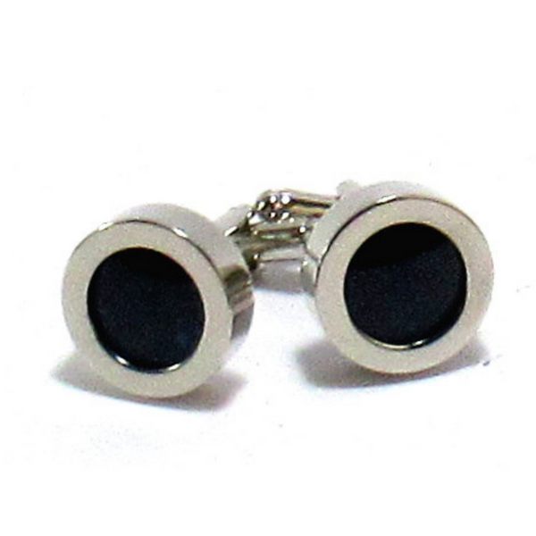 Charcoal Donegal Tweed Cufflinks