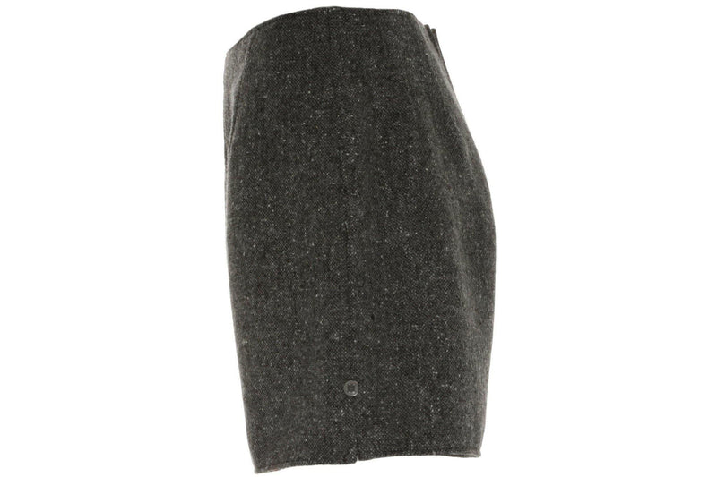 Donegal Tweed Shorts in Charcoal mohair/ merino tweed. Tweed Shorts Tweed.ie 10