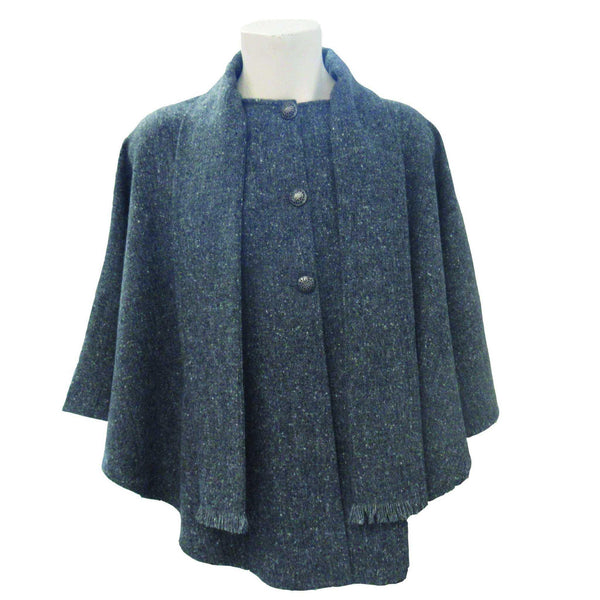 Donegal Tweed Cape tweed.ie