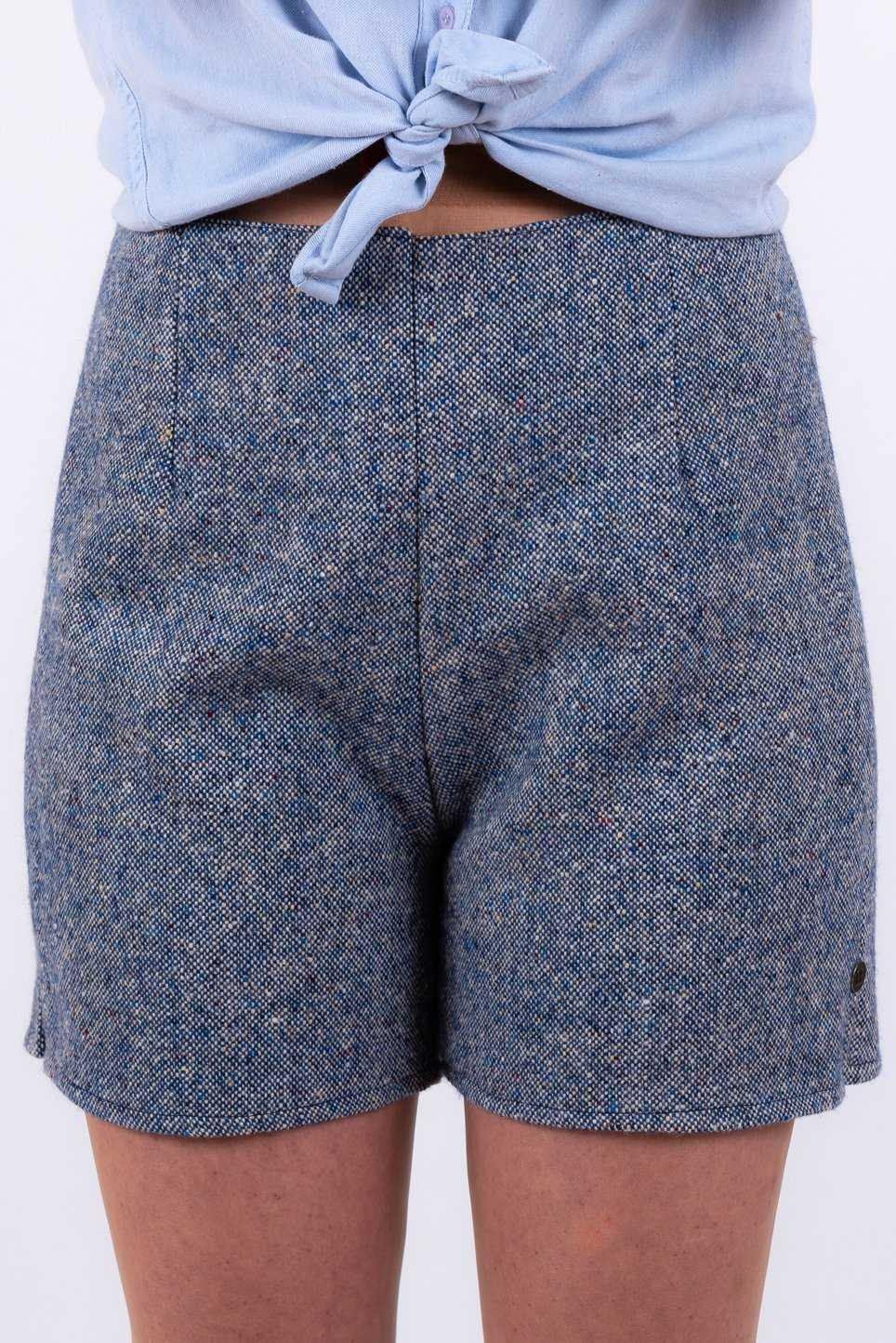 Blue Donegal Tweed Shorts Tweed Shorts Tweed.ie 8
