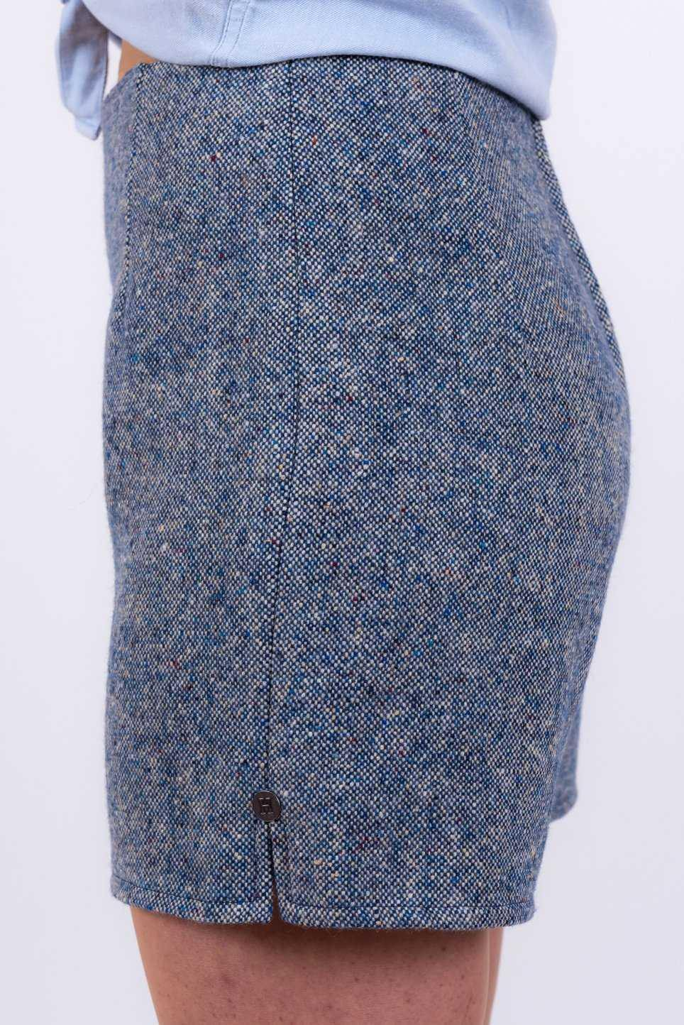 Blue Donegal Tweed Shorts Tweed Shorts Tweed.ie 10