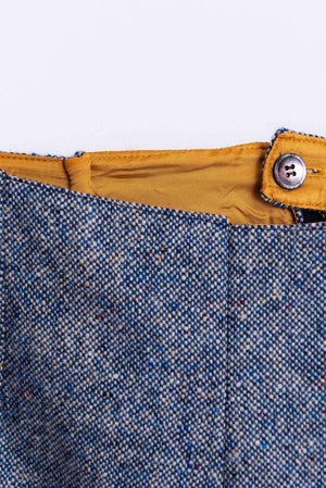 Blue Donegal Tweed Shorts Tweed Shorts Tweed.ie