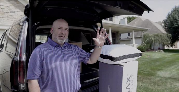 Climax Comfort CEO delivers mattresses personally