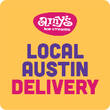 Local Austin Delivery by Amy's Ice Creams
