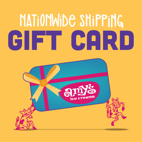 Nationwide Ice Cream Shipping Gift Card