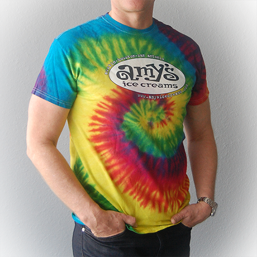 Amy's Ice Creams Tie Dye Men's T-Shirt