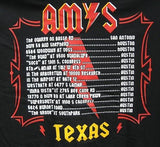 Amy's Ice Creams ACDC Styled V-Neck T-Shirt