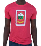 Amy's Ice Creams Loteria Red T-Shirt