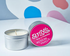 Amy's Ice Creams Mexican Vanilla Scented Candle