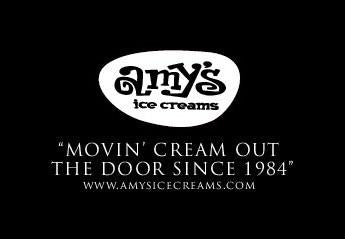 Amy's Ice Creams Wu-Tang Styled Slogan
