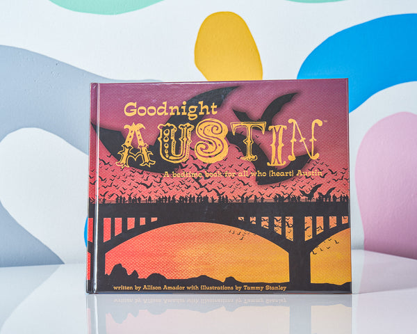 Amy's Ice Creams Brings you the Goodnight Austin Book